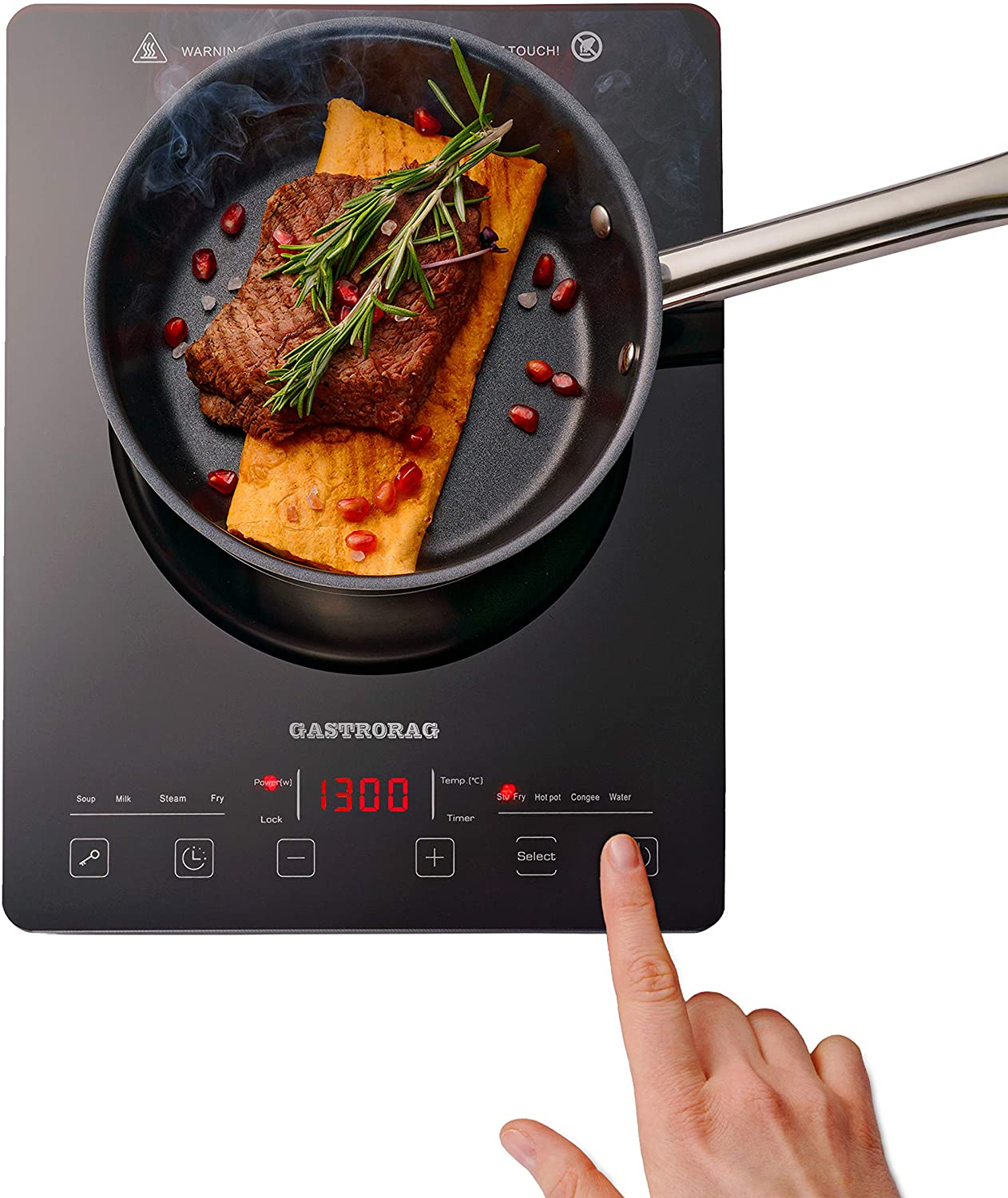 Gastrorag Touch Induction Cooktop