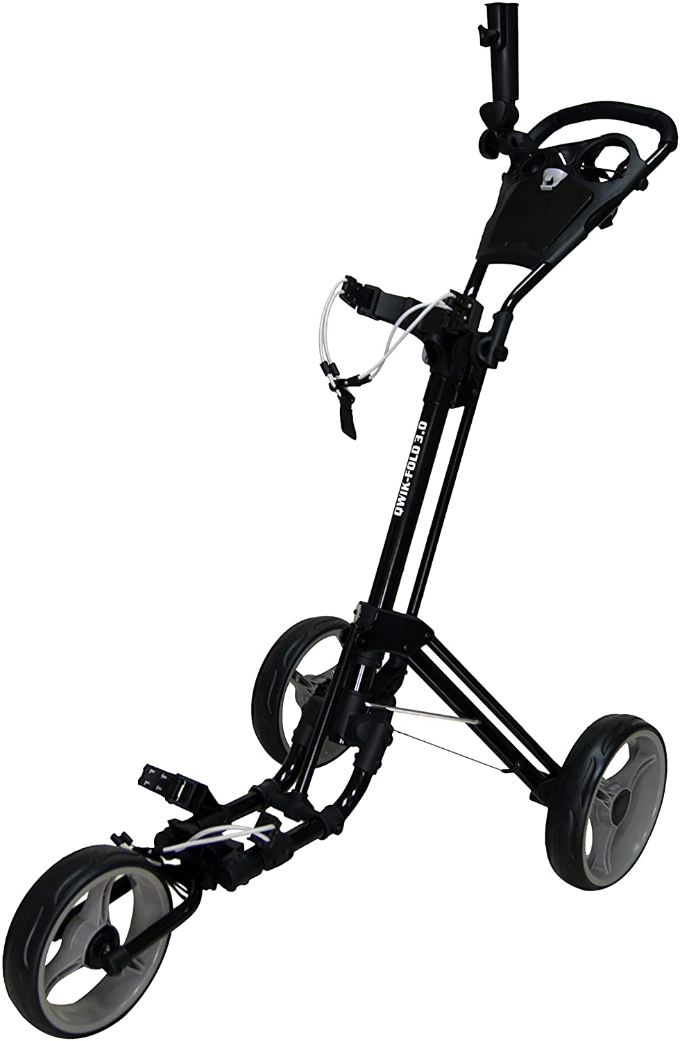 Qwik-Fold 3 Wheel Golf Push Cart