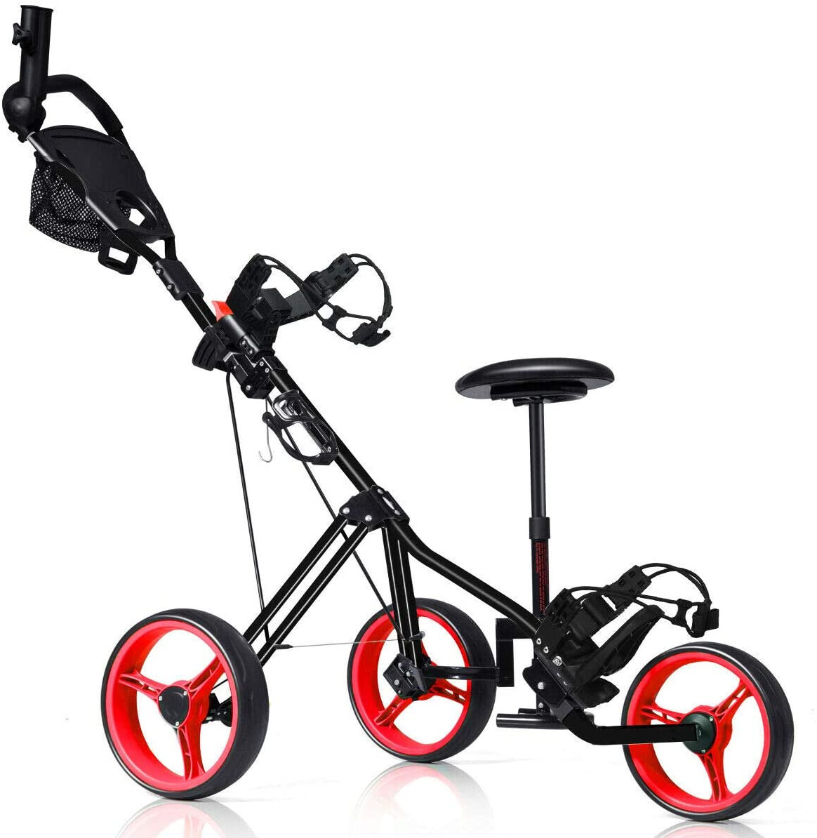 Tangkula Lockable Golf Push Cart