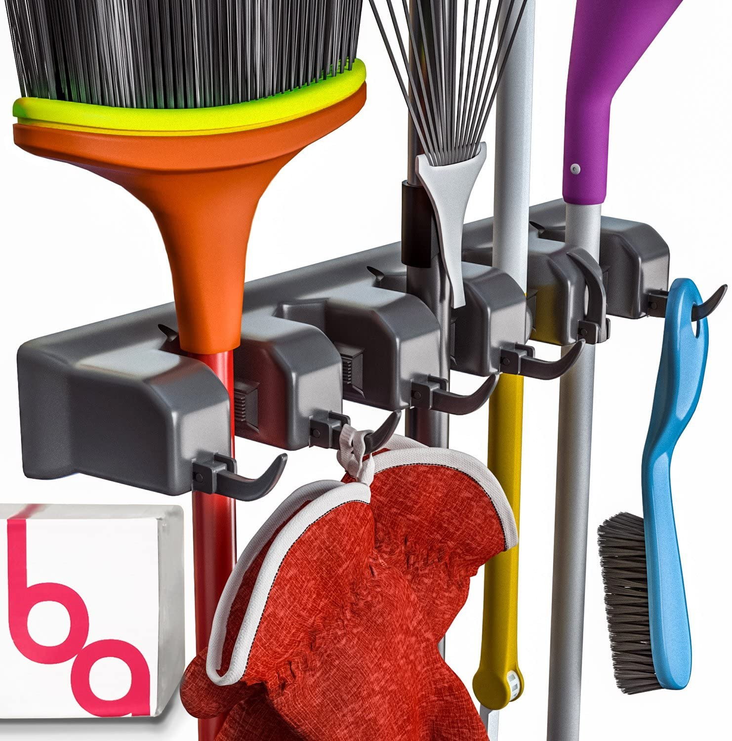 Berry Ave Mop and Broom Holder