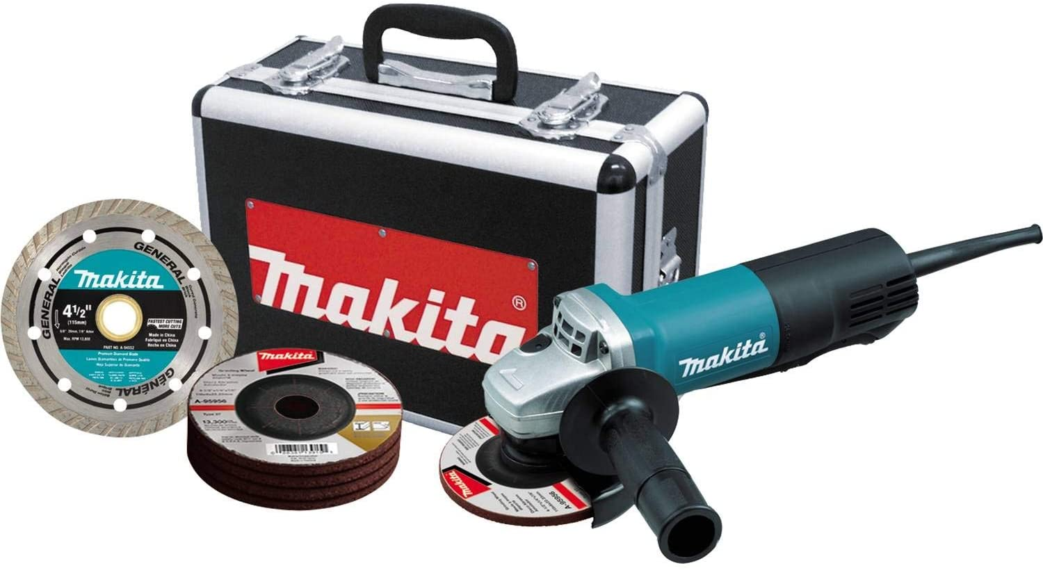 Makita Paddle Switch Cut-Off Angle Grinder