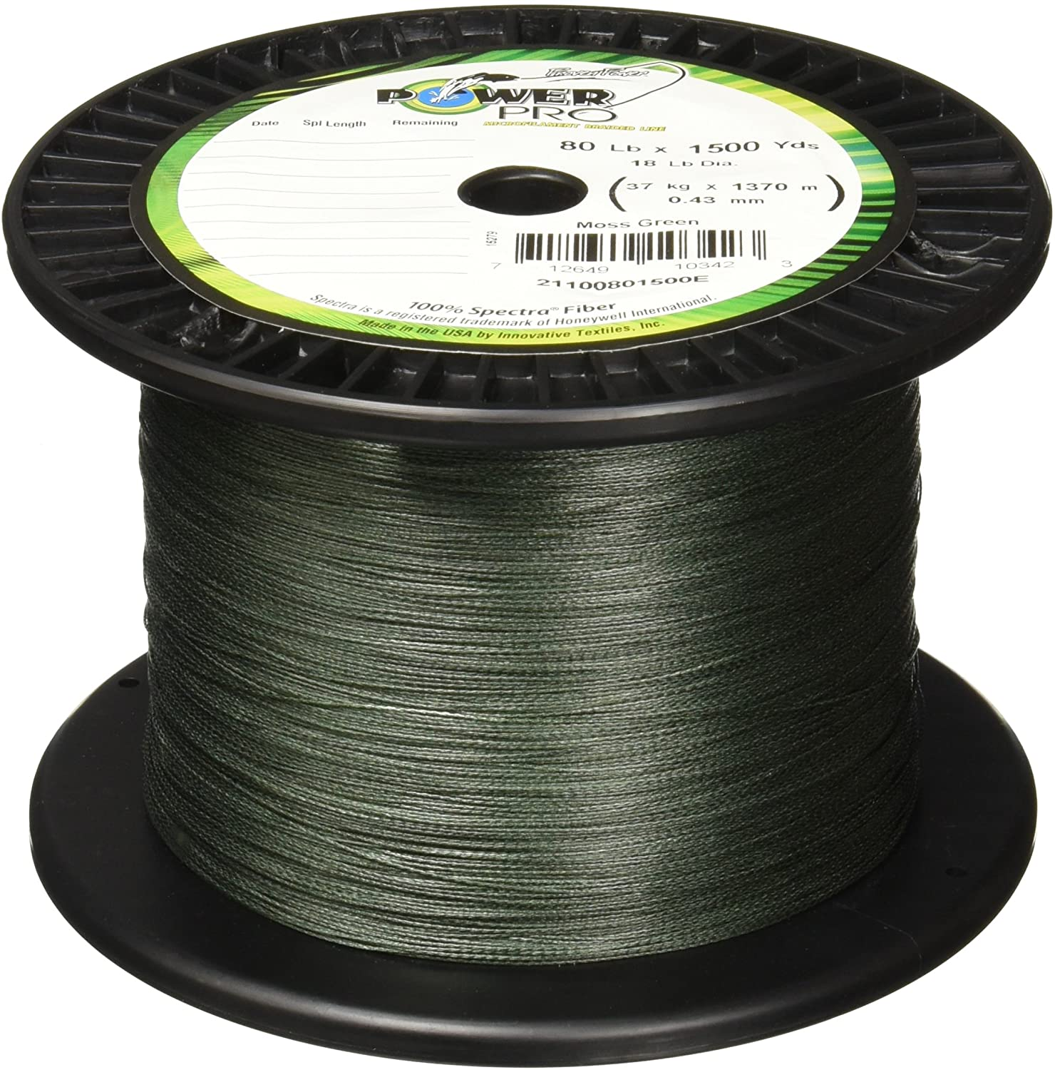 Power Spectra Braided Fishing Line