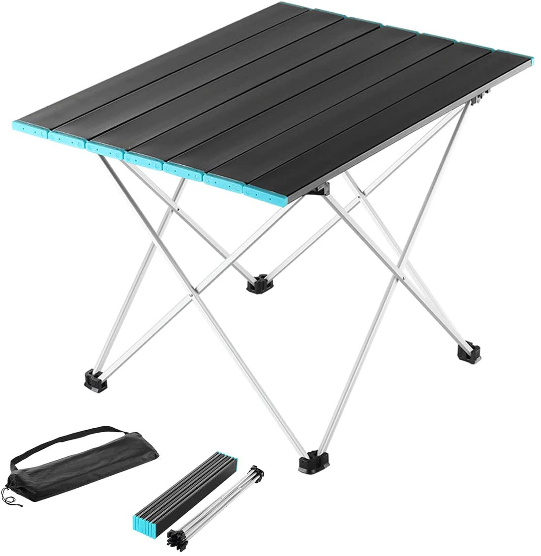WIZDAYS Folding Camping Table