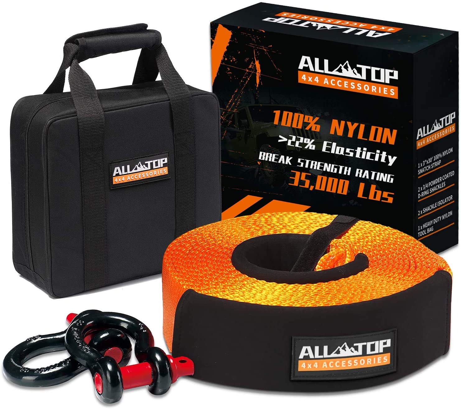 All-Top tow straps kits