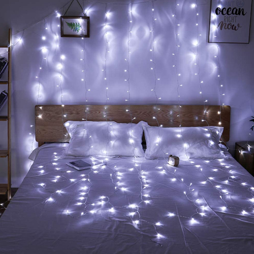 Twinkle Star 300 Curtain Lights String