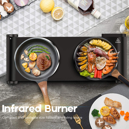 Upgraded Cusimax Portable Induction Cooktops