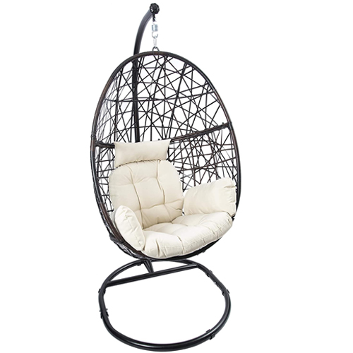 LUCKYBERRY Hanging Egg Chair