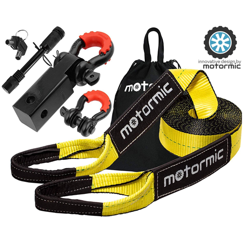 MotorMic 1901 Recovery Tow Strap Kits